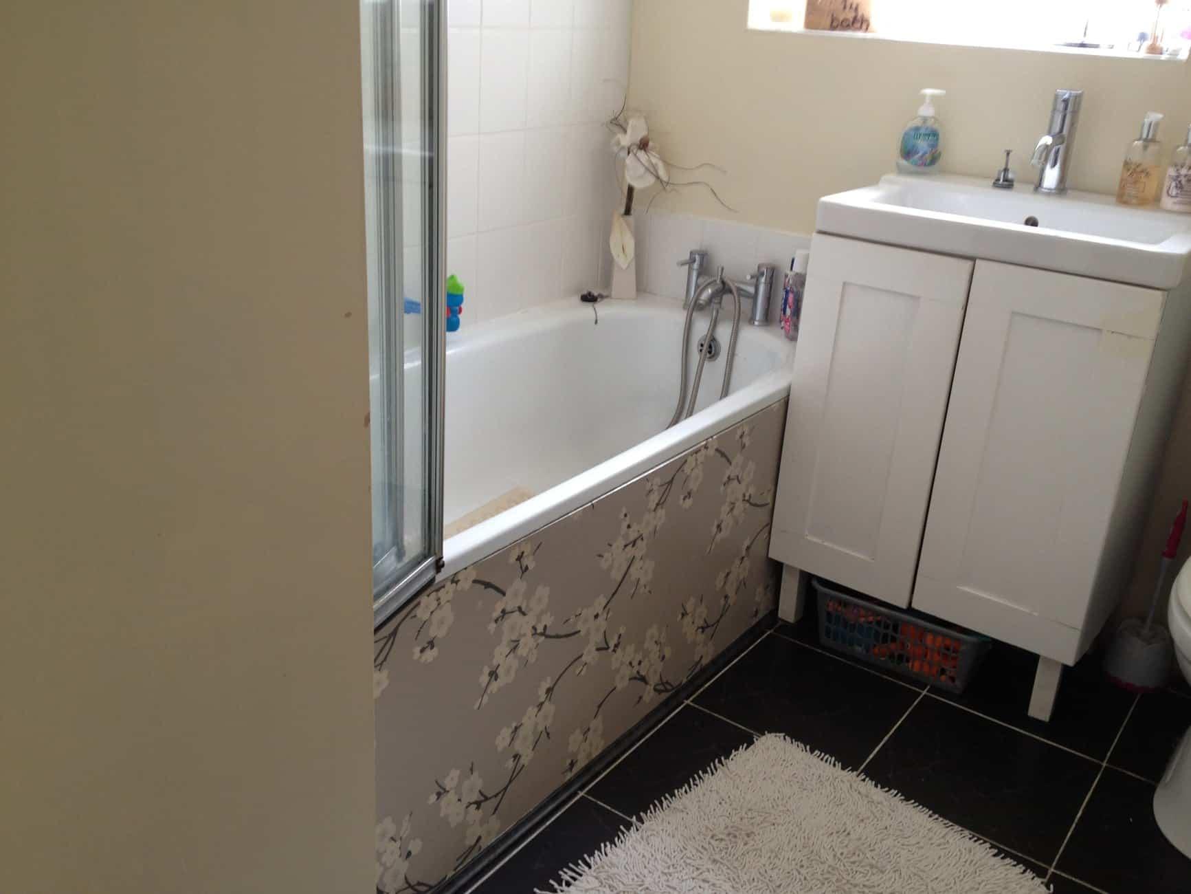 DIY Bath Panel