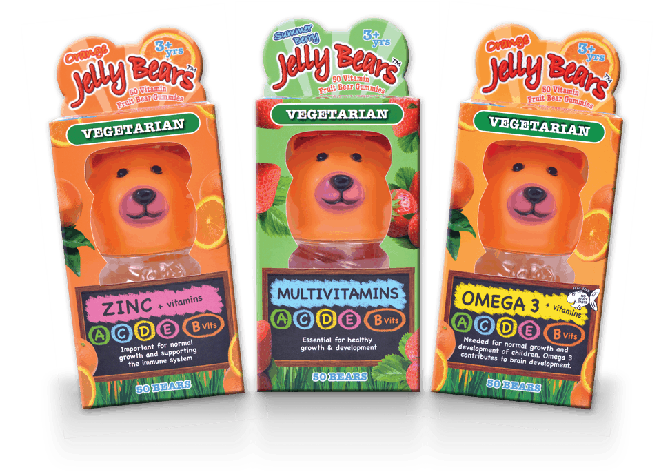 jelly bears vegetarian vitamins