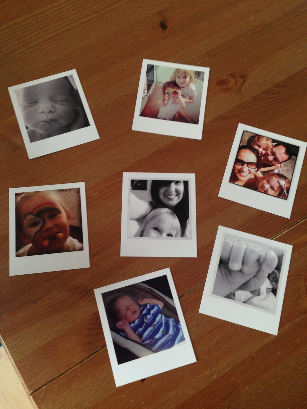 HuggleUp Polaroids