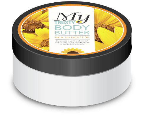 my trusty body butter