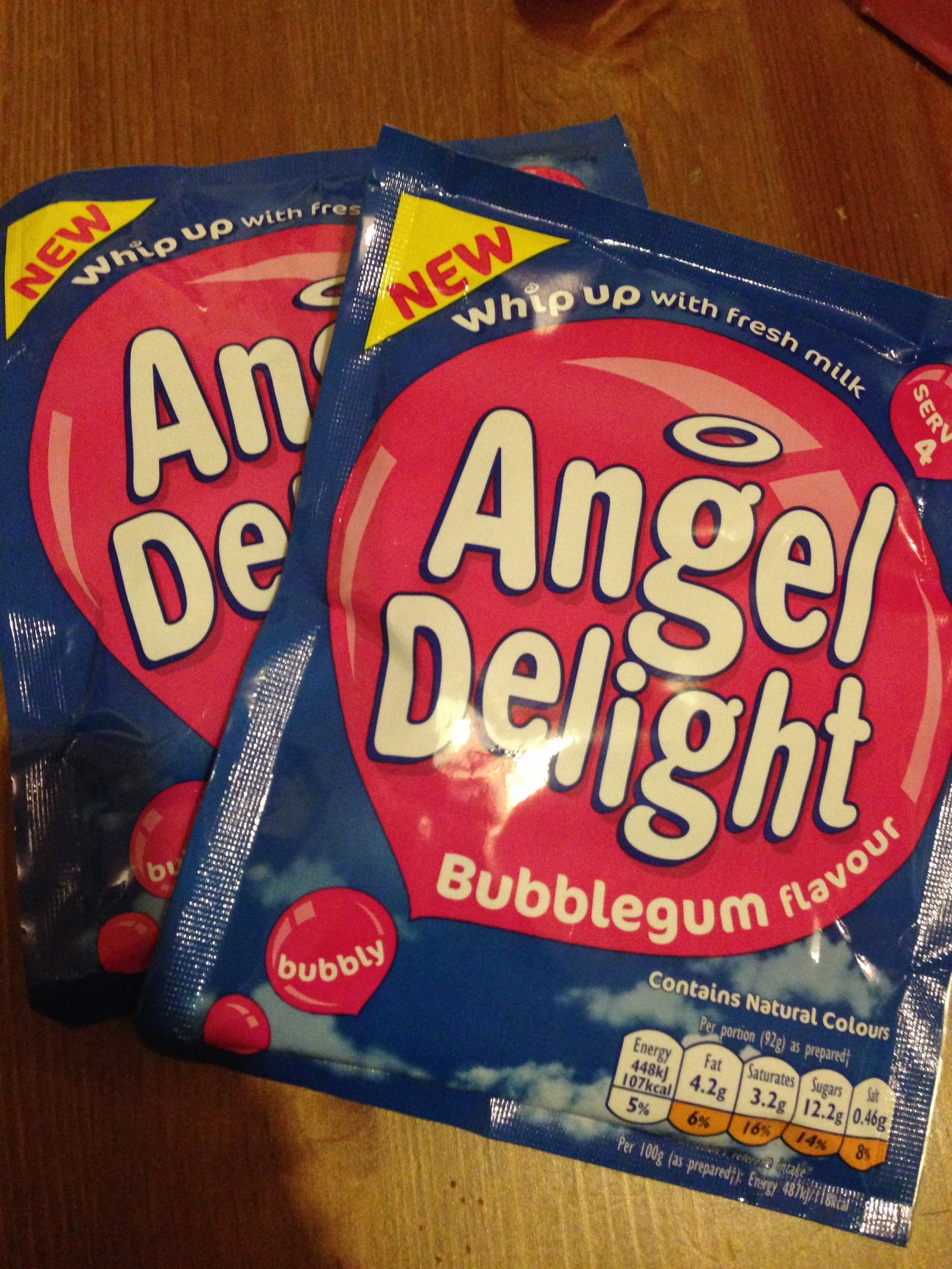 bubblegum angel delight