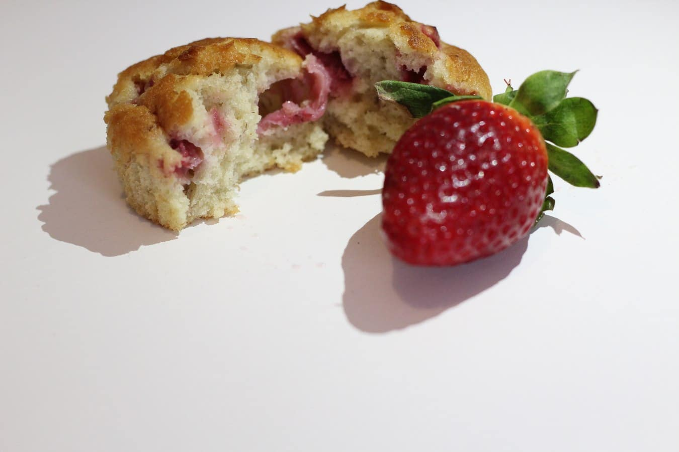 Banana and Strawberry Breakfast Muffins