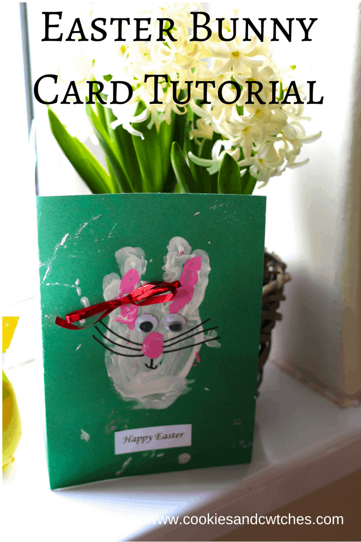 Easter Bunny Card Tutorial