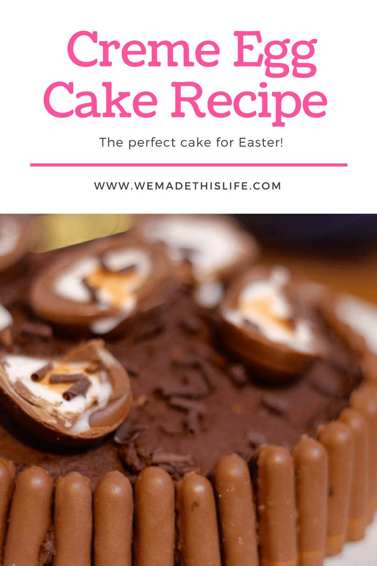 Creme Egg Cake Recipe