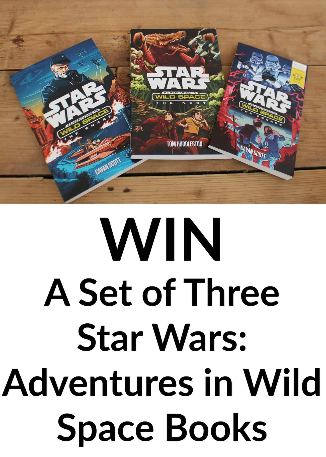 star wars books giveaway