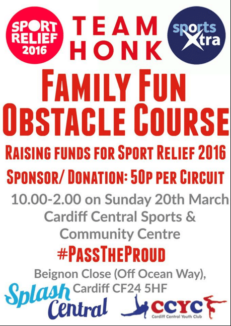 sport relief cardiff