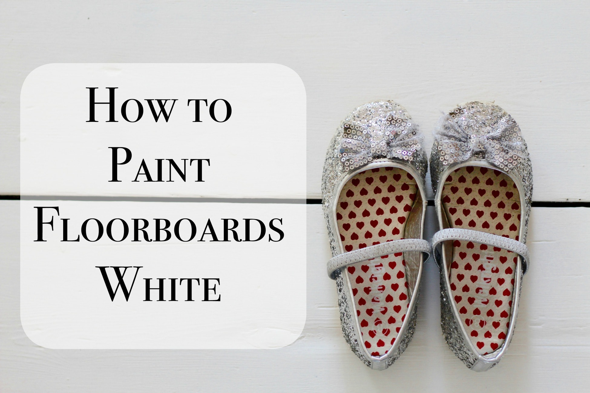 how to paint floorboards white with rust oleum we made this life. Black Bedroom Furniture Sets. Home Design Ideas