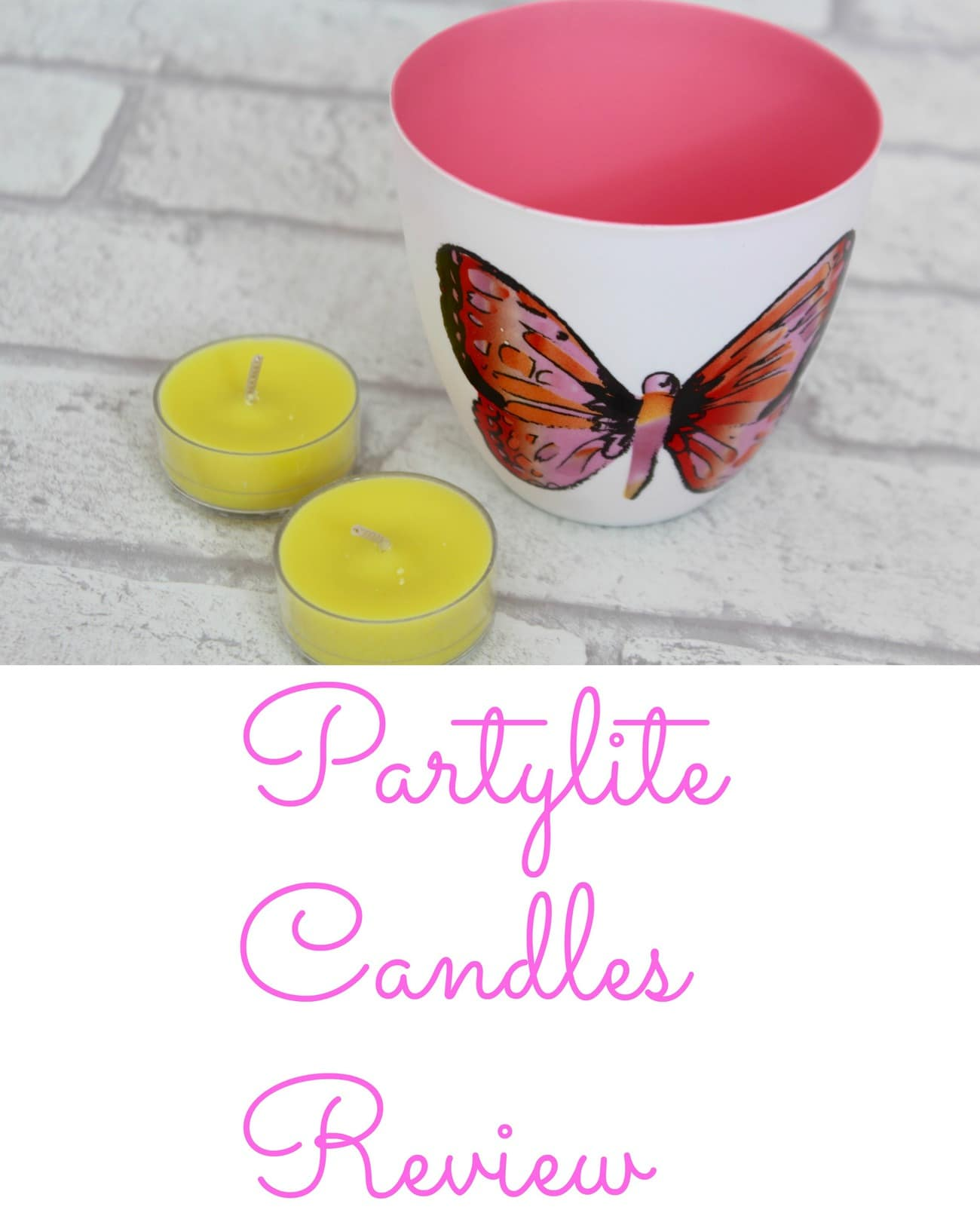 partylite candles review