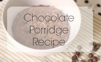chocolate porridge recipe