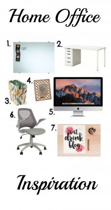 home office inspiration. Ideas to make your home office or study a great looking, stylish and productive space.