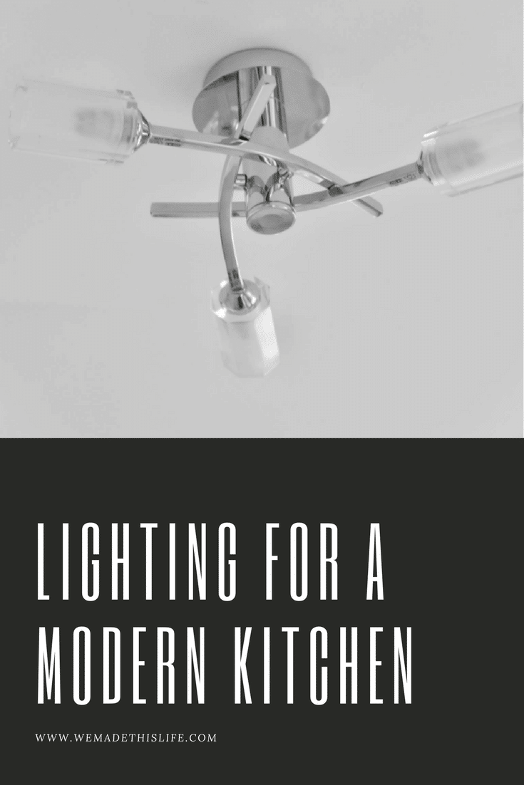 lighting for a modern kitchen