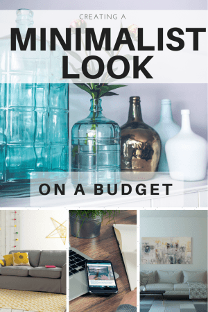 minimalist style on a budget