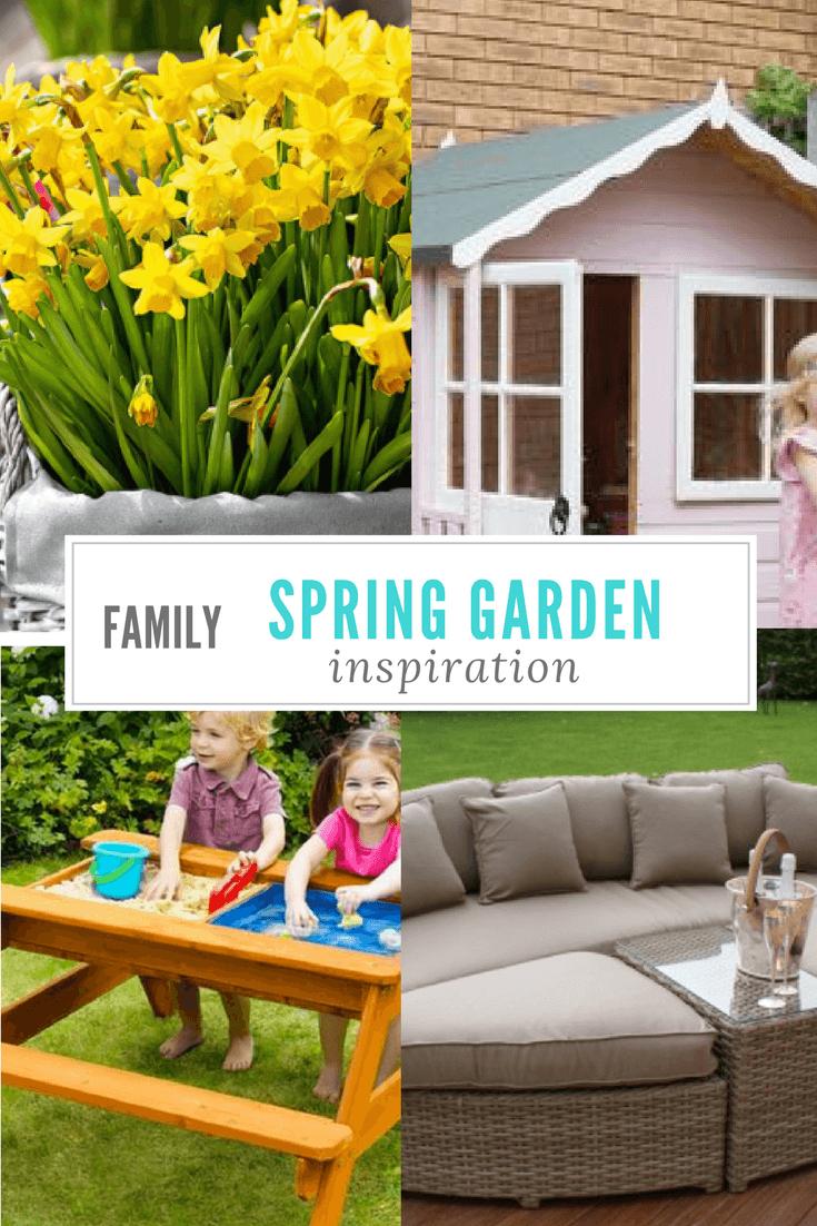 family spring garden inspiration