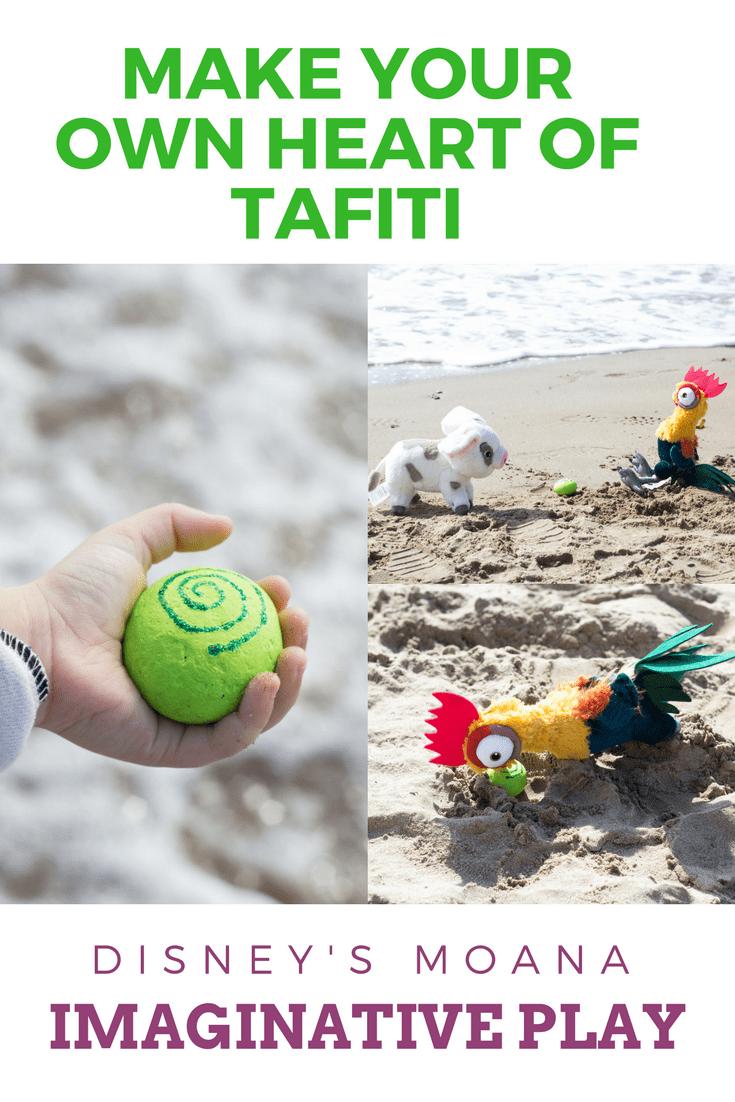 make your own heart of tafiti tutuorial