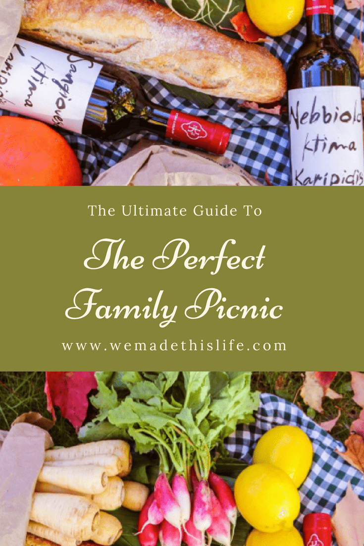the perfect family picnic
