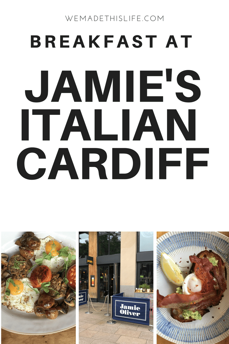 breakfast at jamie's italian cardiff
