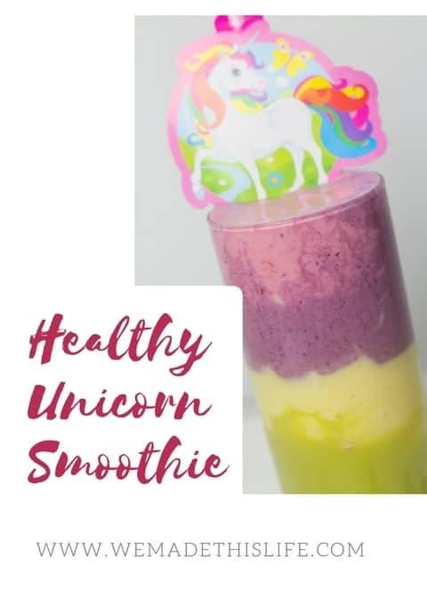 Healthy Unicorn Smoothie Recipe
