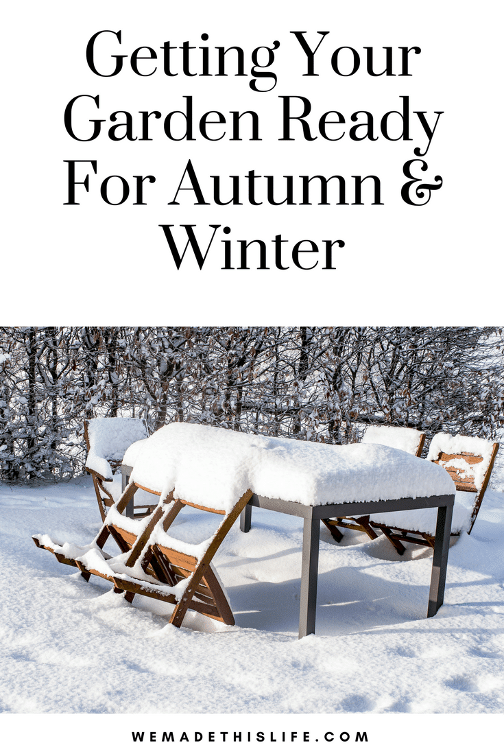 Getting Your Garden Ready For Autumn & Winter
