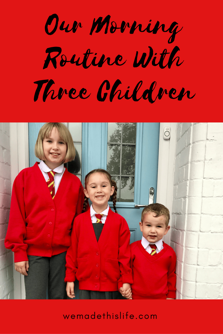 Our Morning Routine With Three Children