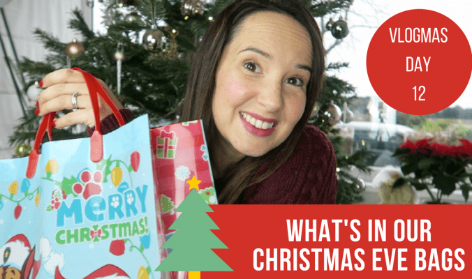 What's In My Kids Christmas Eve Bags - Vlogmas Day 12